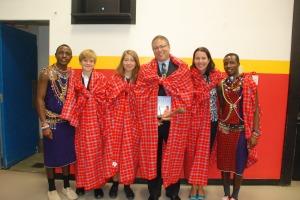 Maasai Warriors visit KCS