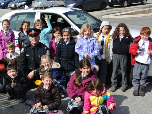 A visit with Officer Rich
