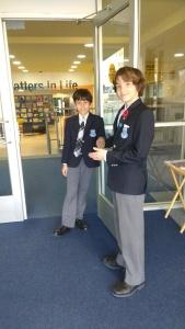 KCS student tour guides