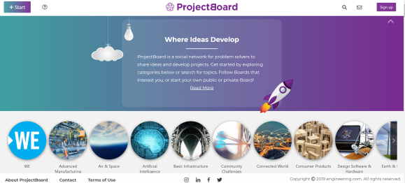 ProjectBoard screenshot 2